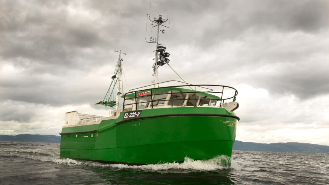 The world's first hybrid fishing boat - The Explorer